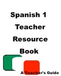 Spanish 1 texbook resource