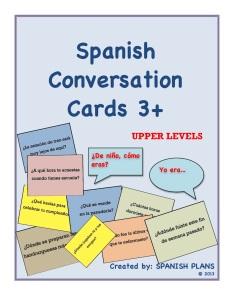 Spanish 3 4 Speaking