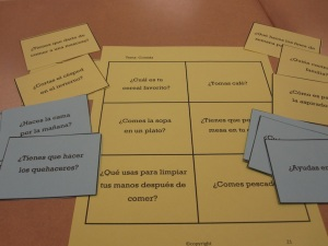 speaking spanish activity