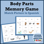 Body Parts Memory