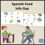 Comida Info Gap Activity