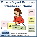 Direct Object Pronoun Activity