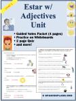 Estar Adjectivos Spanish