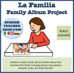 Family Album Spanish Project La Familia