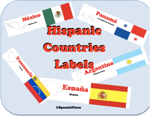 20 Country Labels