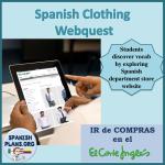 La Ropa Webquest
