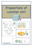 Prepositions of Location
