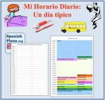 Mi horario Diario mis rutinas