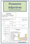 Adjectivos Posesivos