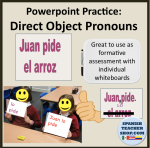 Powerpoint Direct Object Pronouns