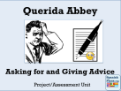 Giving Advice Unit