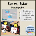 Ser v Estar Powerpoint Whiteboards