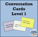 Spanish Conversation Cards 1