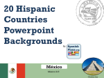 Spanish Countries Powerpoint Template