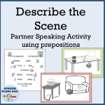 Spanish Describe scene activity
