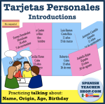 Spanish Introductions Speaking