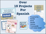 Spanish Project Bundle