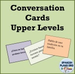 Spanish Upper Level Speaking Cards