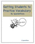 Vocbaulary Practice Activities