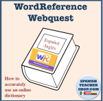 WordReference Webquest
