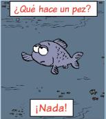 ¿Qué hace un pez?