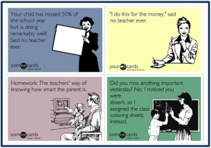 teacher problems ecards
