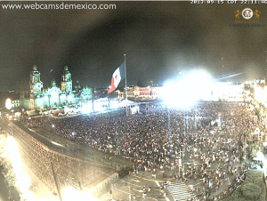 El Zocolo Grito webcam