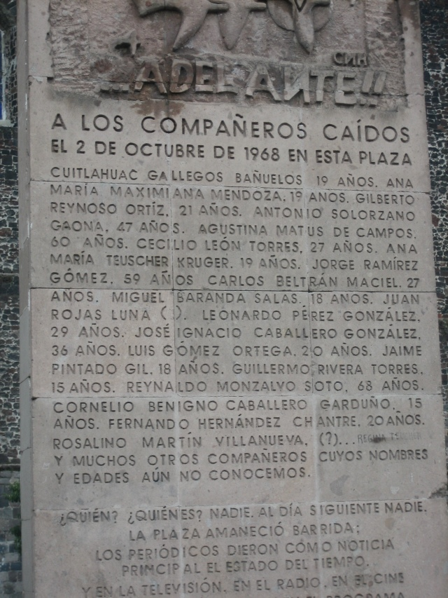 2 de Octubre 1968 Mexico