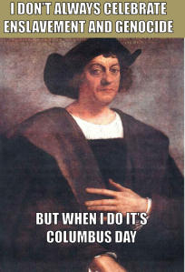 Columbus Day Genocide Day