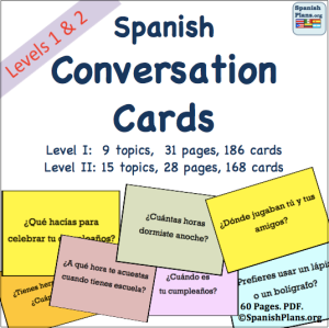 how to say conversation in spanish