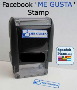 Facebook Me Gusta Stamp