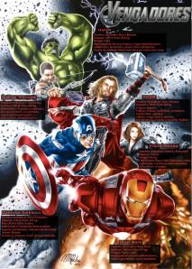 Avengers in Spanish