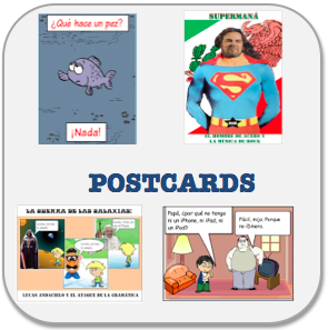 Spanish Teacher Postcards