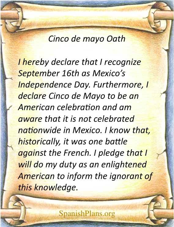 cinco de mayo pledge
