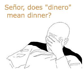 Dinero is not Dinner
