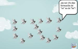 Volar en B o V