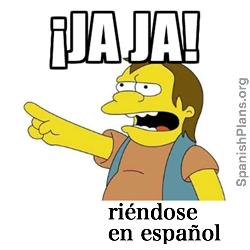 laughing in spanish jaja haha