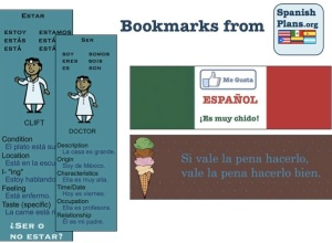 3 Spanish Bookmarks