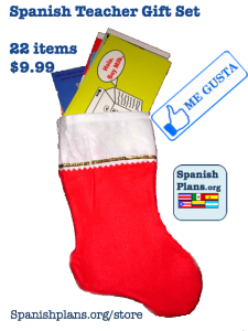 Spanish Teacher Christmas Gift