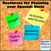 Resources and Lesson for Spanish Units