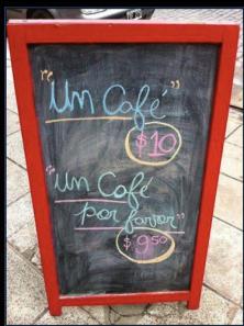 cafe por favor