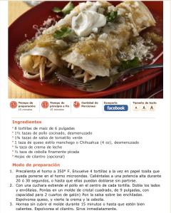 receta de enchiladas verdes