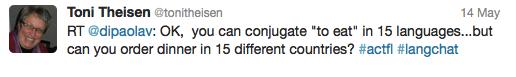 you can conjugate can you communicate