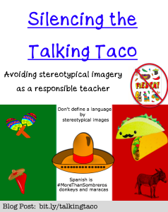 silencing the talking taco