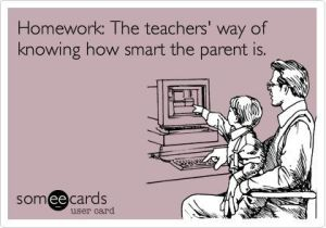 How smart the parent is