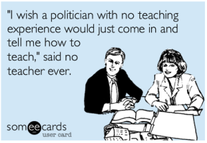 politicians teachers