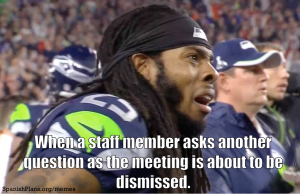 staff meeting questions