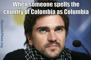 Colombia as Columbia meme