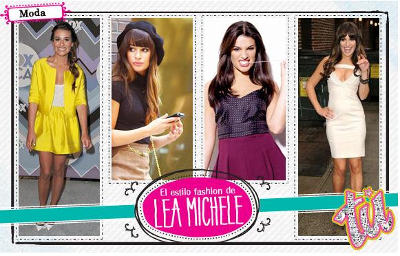 el estilo de Lea Michele