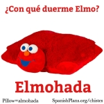 Elmojada Elmo Almojada